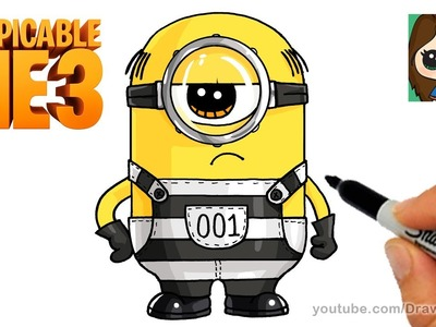 How to Draw a Minion | Despicable Me 3