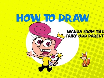 How to draw Wanda from Fairly Odd Parents - STEP BY STEP - ART LESSONS GUIDE