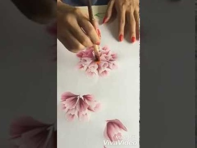 How to drowning a wall mat. and a beautiful design drowning (Art and Craft)