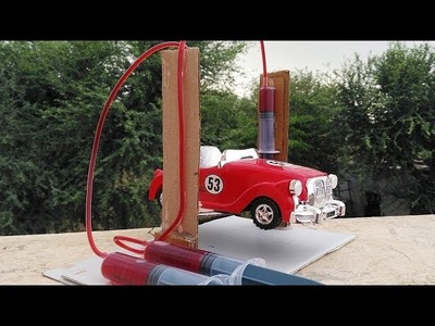 How To Make a Car Service lift | Hydraulic Lift Project | Hydraulic Car Lift | Using Cardboard