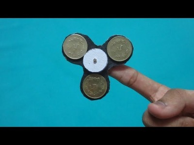 How to make a Fidget Spinner without Bearings in 1 minute
