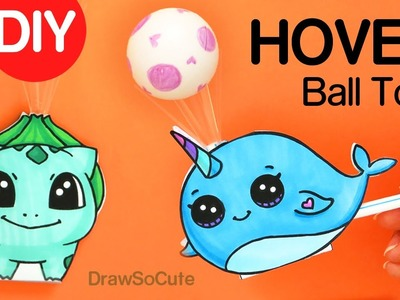 How to Make a Hover Ball Toy Easy | Fun DIY with Straws