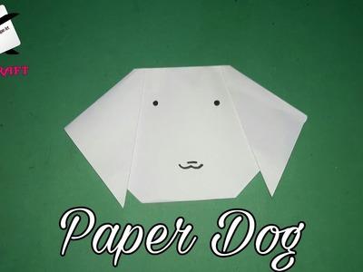 How to make a paper a dog | कागज का कुत्ता कैसे बनायें