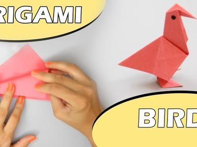 Bird Diy Crafts How To Make An Origami Paper Bird Origami