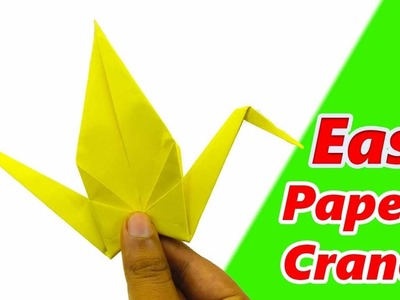 How To Make a Paper Crane: How To Make an Origami Flapping Bird Easy Steps Origami Bird That Flies