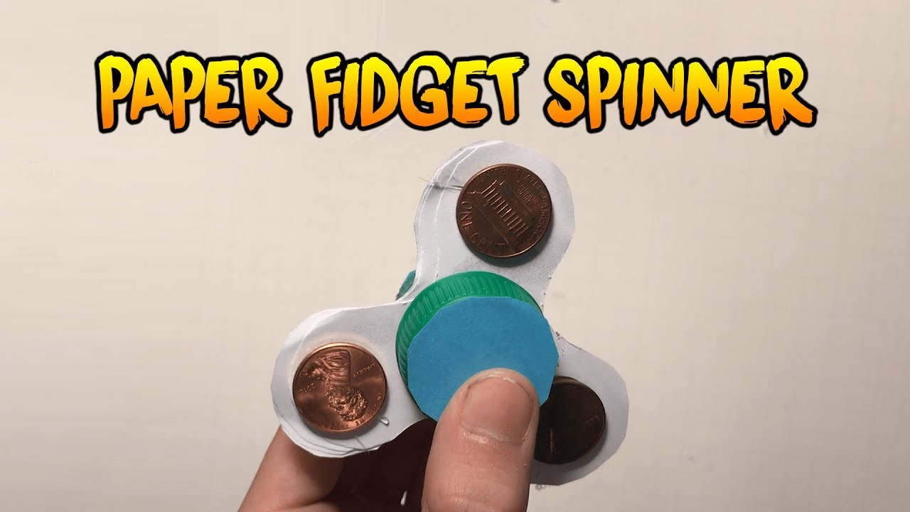 How To Make A Paper Fidget Spinner