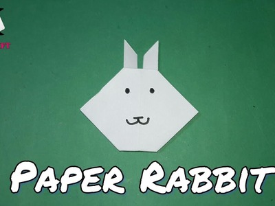 How to make a paper rabbit || कागज़ का खरगोश कैसे बनायें