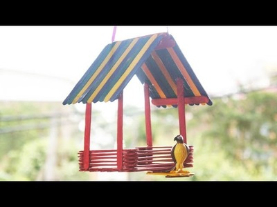 How to Make an Easy DIY Bird House TCraft
