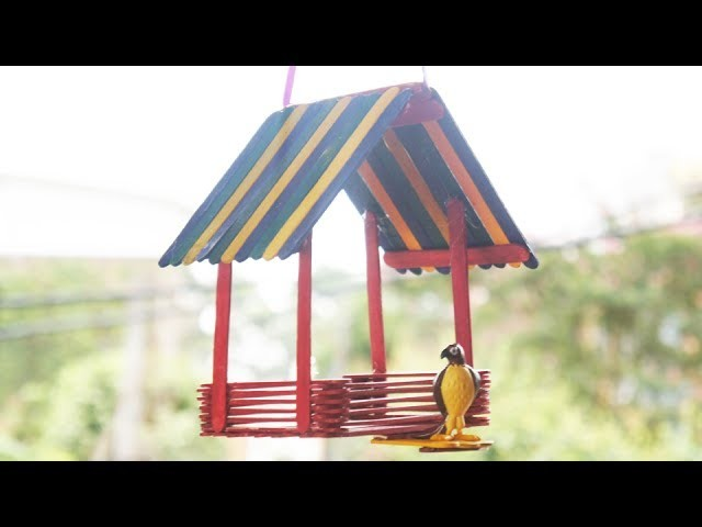 How to Make an Easy DIY Bird House TCraft
