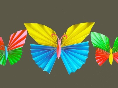 How to Make an Origami Butterfly Step By Step | A butterfly out of paper Easy Tutorial| Origami Tuto
