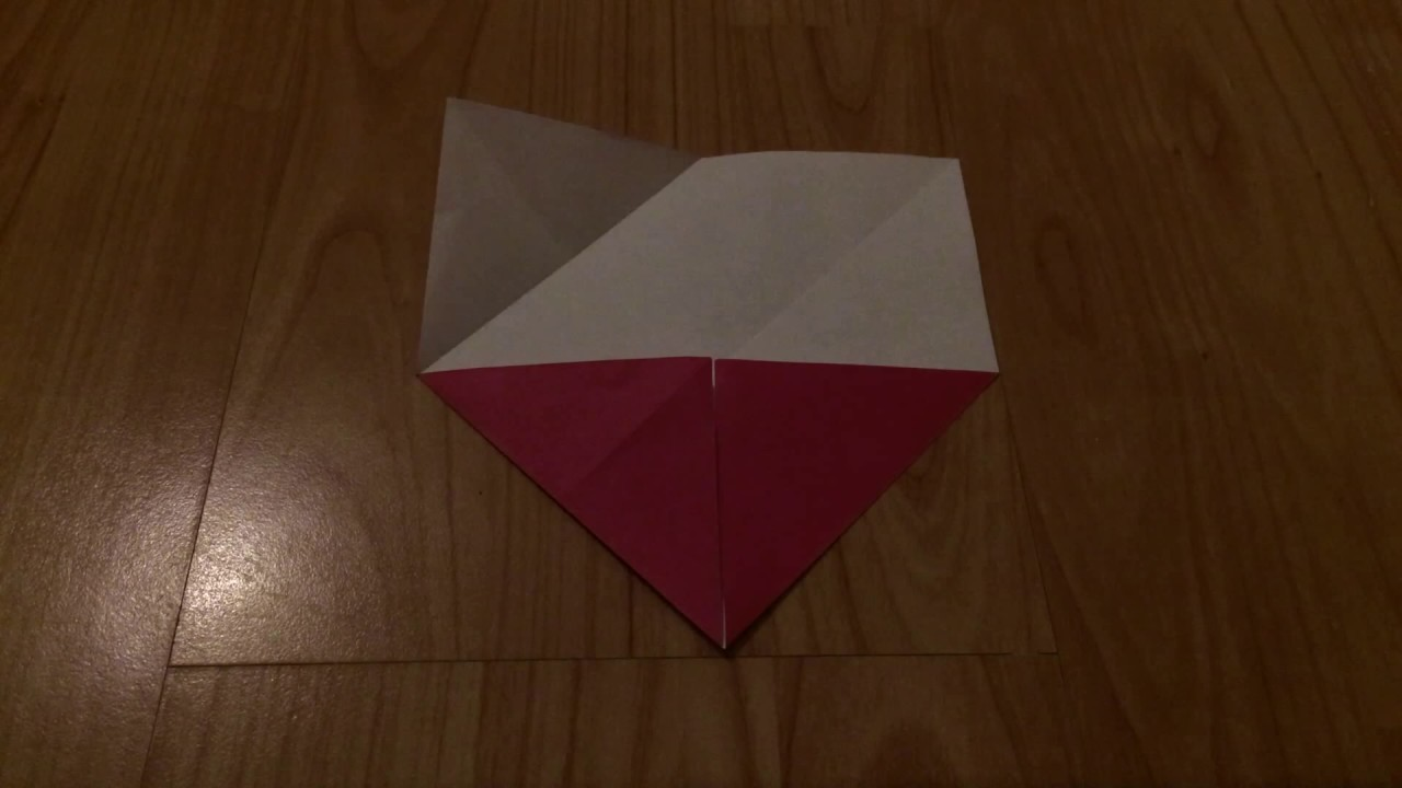 how to make an origami lotus flower stopmotion