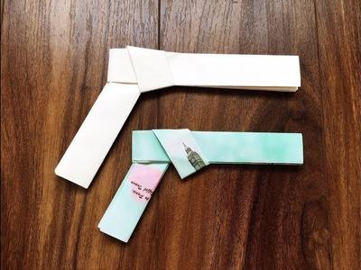 How to make an origami paper gun - Bang Bang