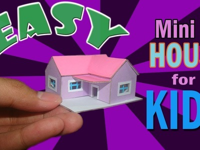 How to Make Cardboard House for Kids | Cardboard House Tutorial for Kids