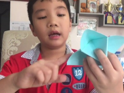 How to make Cootie Catcher (That's OK if it is not perfect!)