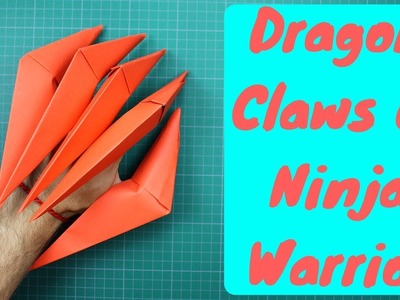 How to make Dragon Claws of Ninja Warrior - One of the tools of a real Ninja Warrior