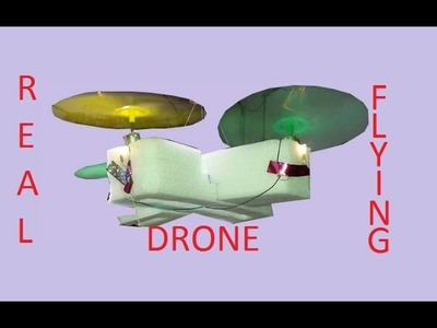 How to make drone at home - real flying drone