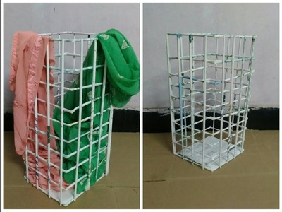 How to make laundry basket with papers  || DIY paper basket