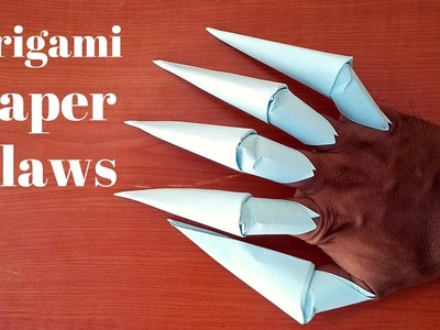 How to make: Origami Paper Claws-(by origami things) easy tutorials