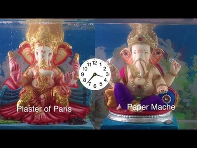 How to make Paper Ganesha || paper Ganesha vs pop ganesha