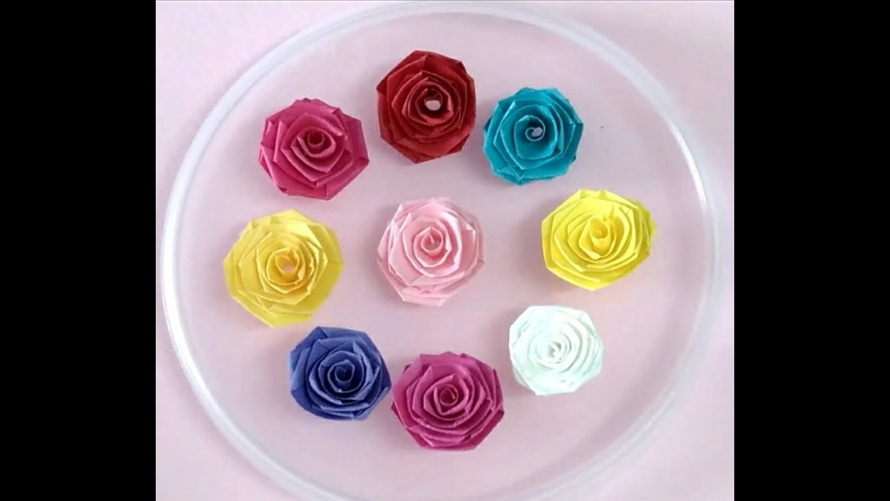 How To Make Paper Quilling Rose QuillingStyle