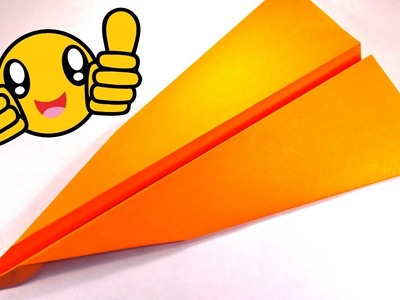 How to make perfect paper airplane that flies very far. One of the best paper airplane in the world.
