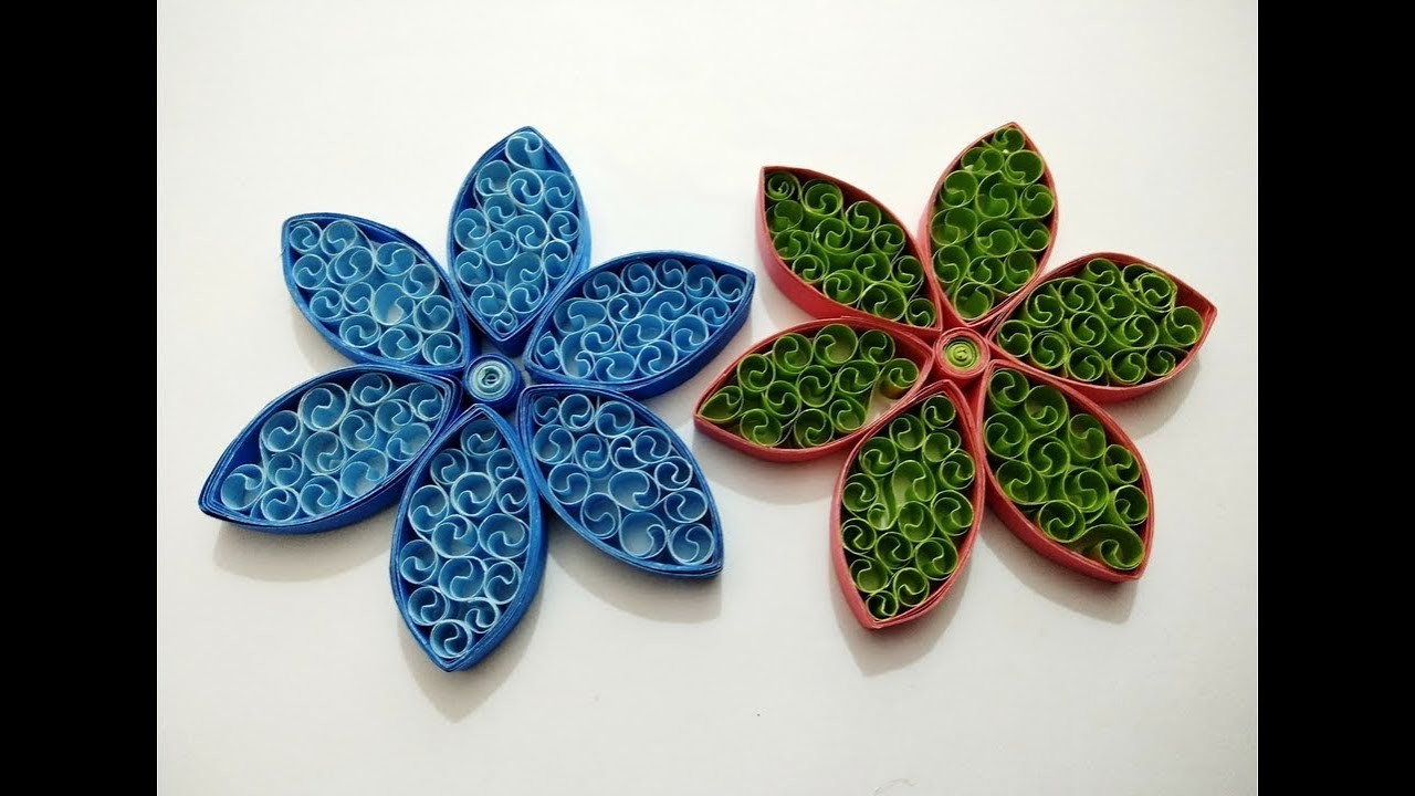 How to make quilling flowers paper quilling designs for for Quilling designs how to make