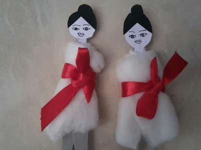 How to make spa dolls
