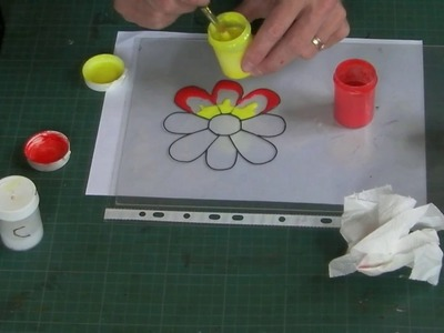 How to make your own Peelable Glass Paint.