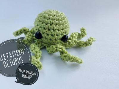 Octopus tentacles | crochet amigurumi tutorial