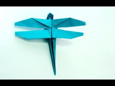 Origami origami bellflowerhow to make origami bellflowereasy origami dragonfly origami how to make an origami dragonfly mightylinksfo