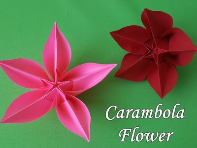 How origami flower carambola how to make origami flower origami flower carambola how to make mightylinksfo