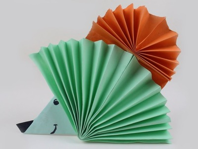 Origami Hedgehog | How to Make Paper Origami Hedgehog | Paper Hedgehog for Children