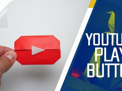 Origami - How To Make An Origami YouTube Play Button (Jo Nakashima)