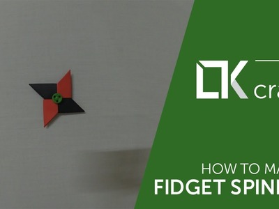 Origami toys #13 - How to make a paper fidget spinner (very easy)