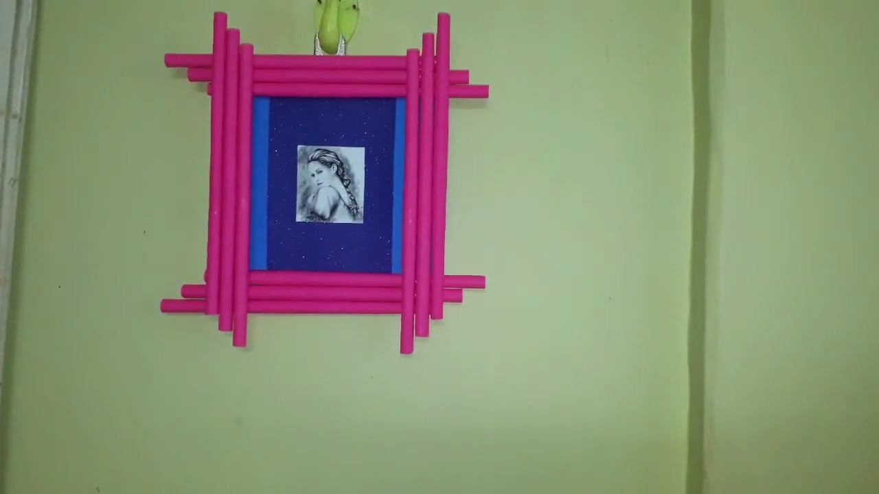 Wall Hanging Photo Frames From Cardboard And Paper Diy Room Decor