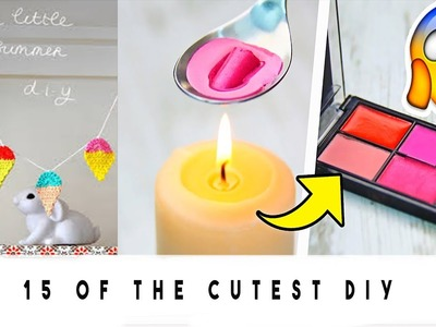 15 Of The Cutest DIY Projects You've Ever Seen, 15 TOTALLY EASY DIY PROJECTS TO TRY 2017
