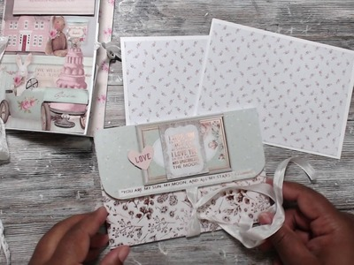 4 WAYS TO MAKE A PHOTO BOOK USING  1 SHEET 12X12 PAPER {TUTORIAL}