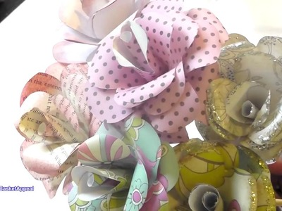 Adding a Stem to Paper Roses