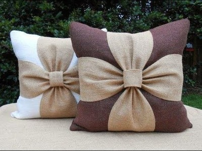 Beautiful Flower Cushion Cover Cutting and Stitching | DIY | Home Decor