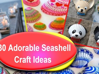 Best  30 DIY Seashell Decor Ideas