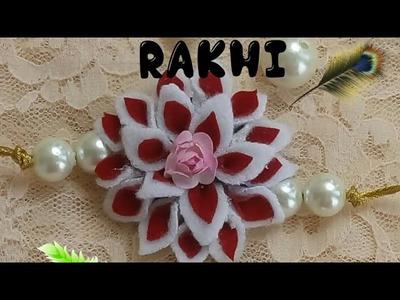 D.i.y handmade kids felt rakhi making 2017
