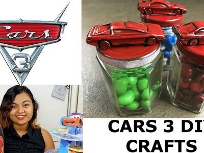 DIY CARS 3 PARTY CRAFTS!