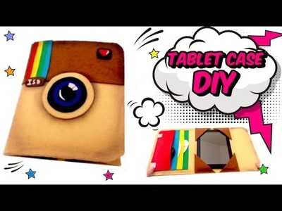 DIY crafts instagram felt case tablet or ipad easy cheap crafts