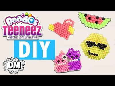 DIY Emoji Keychains with Beados Teeneez! - Back to School DIY | Dream Mining
