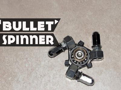 DIY Fidget Spinner - How to make a Bullet Spinner