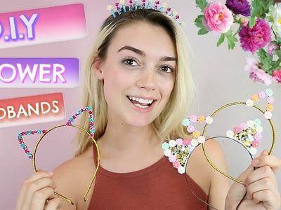 DIY FLOWER CAT EARS!. YO I'M JO