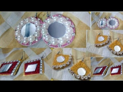DIY Foam Sheet craft EARRINGS__Traditional and Very Easy