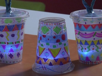 DIY Glowing Lanterns Project for Kids