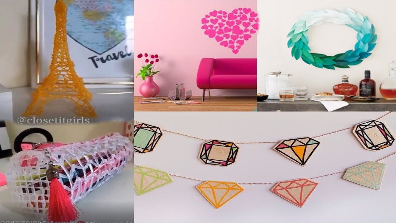 DIY Hacks , DIY Everyday , DIY Projects , 5 Minute Crafts, IY Room Decor and Home Decoration Ideas!