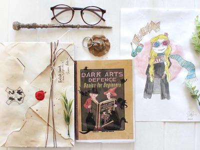 Ϟ DIY Harry Potter Themed Back To School Supplies 2017 + GIVEAWAY  ♡ | Jessica Ralson ⚯